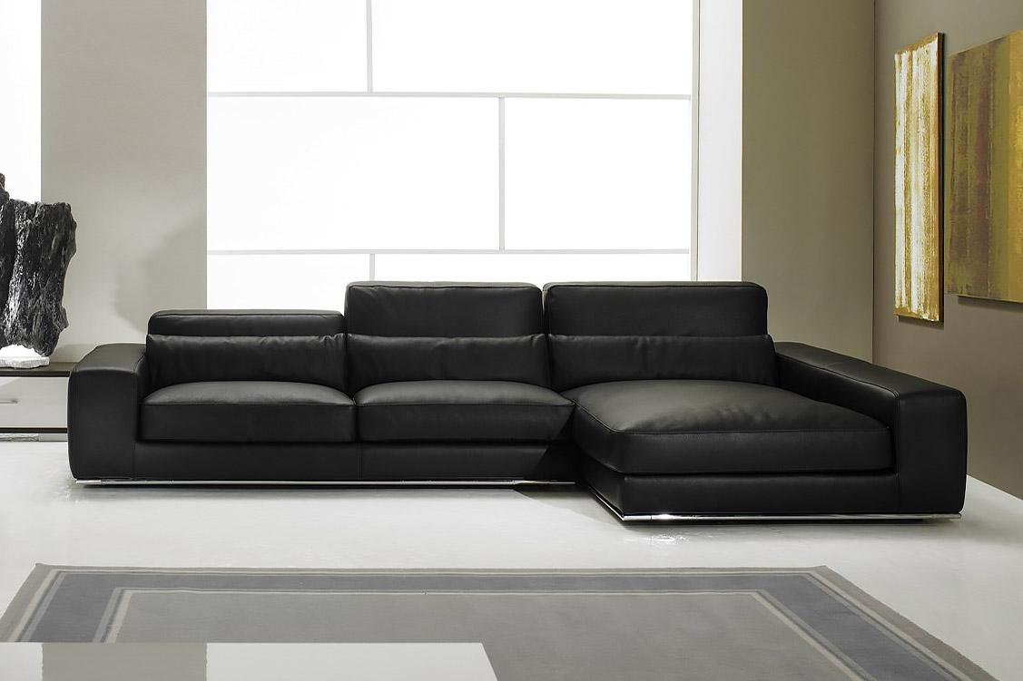 divano in pelle design aramis