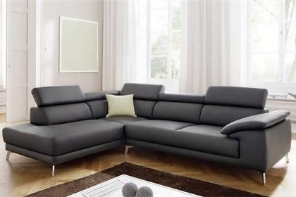 Divano angolare in pelle family - Pelle del divano rovinata ...