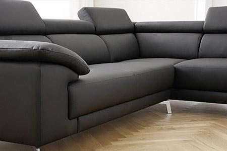 Divano angolare in pelle family - Copridivano angolare per divano in pelle ...