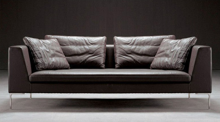 Divano in pelle design fantasy - Altezza quadri sopra divano ...