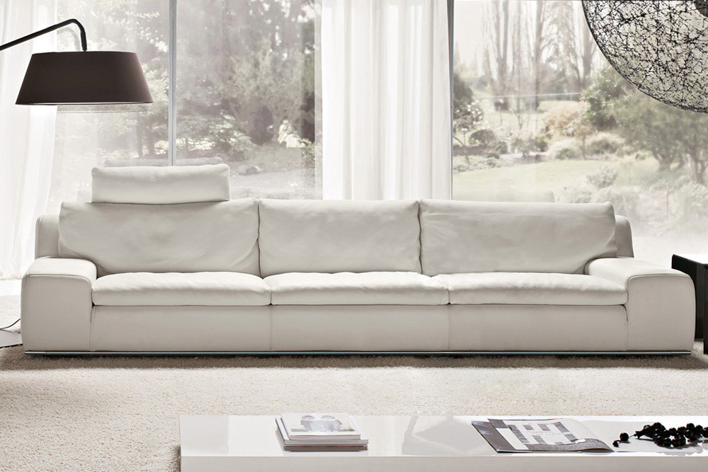 Divano in pelle home for Italienische sofa