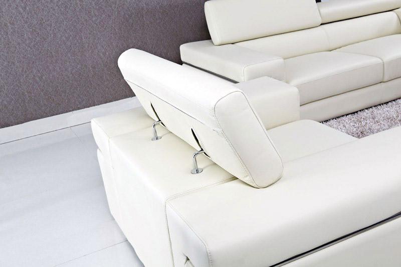 Divano in pelle design kennedy - Divano con seduta allungabile ...
