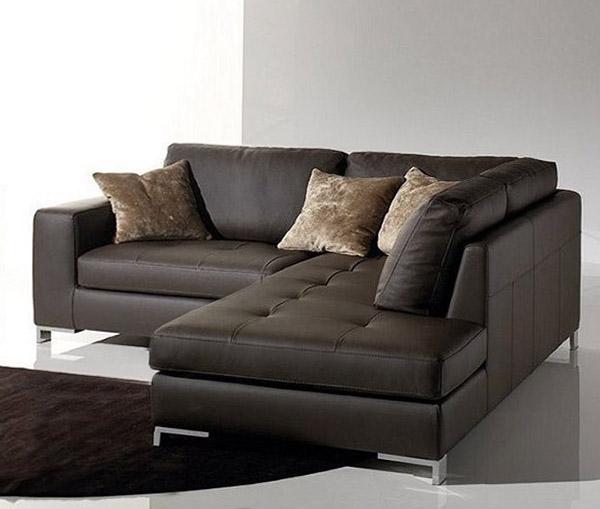 salotti in pelle simona. Black Bedroom Furniture Sets. Home Design Ideas