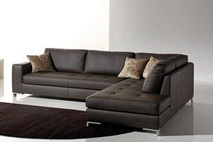 Divani in pelle, divani angolari e lineari. Catalogo 2019