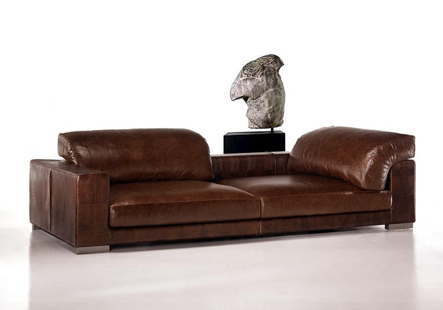 Grande divano sultano - Divani moderni in pelle design ...
