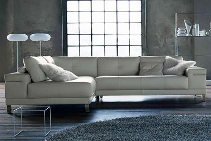 Salotto angolare in pelle vento - Copridivano angolare per divano in pelle ...