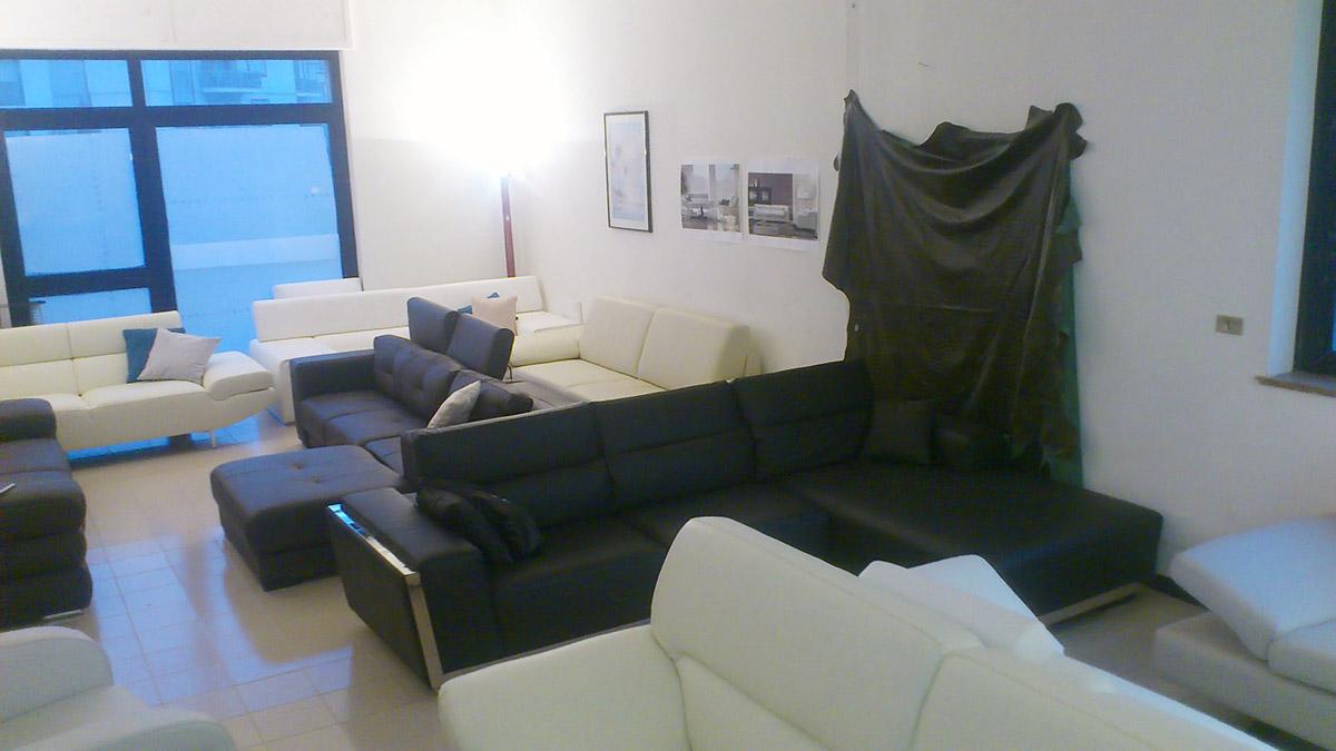 Divano Nero E Bianco : Divano in pelle moderno new zealand vama divani