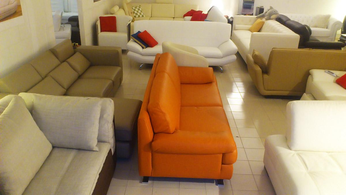 Divano pelle giallo: divano letto singolo in tessuto color giallo ...